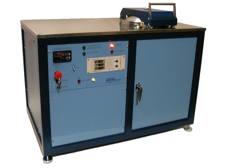450 degree high vacuum oven for bulk pump and bake process